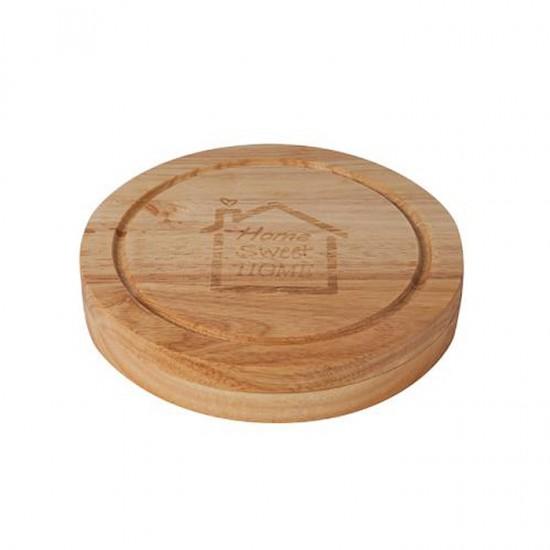 Дървен сет за сирена, 4 части, Lancaster Taste Collection