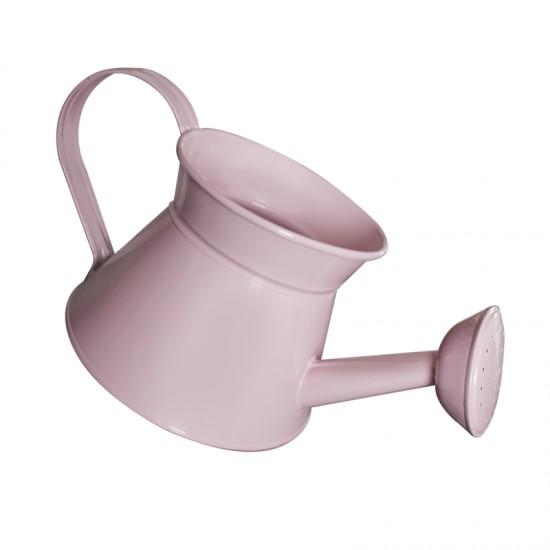 Декоративна метална лейка, 2 литра, розова, FERONYA