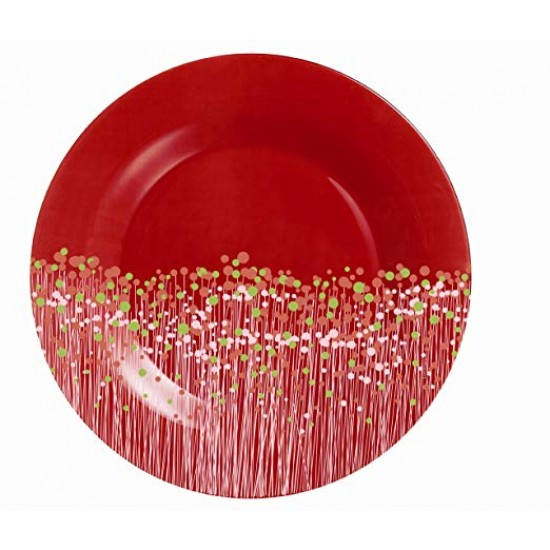 Дълбоки чинии Flowerfield Red, 6 бр.
