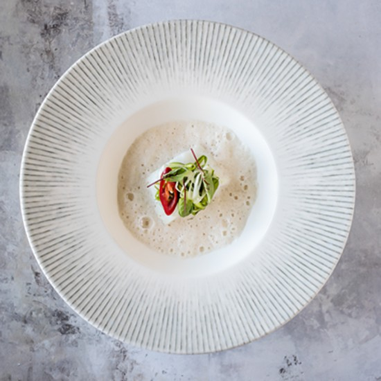 Дълбока гурме чиния IRIS, 27 см, BONNA Турция
