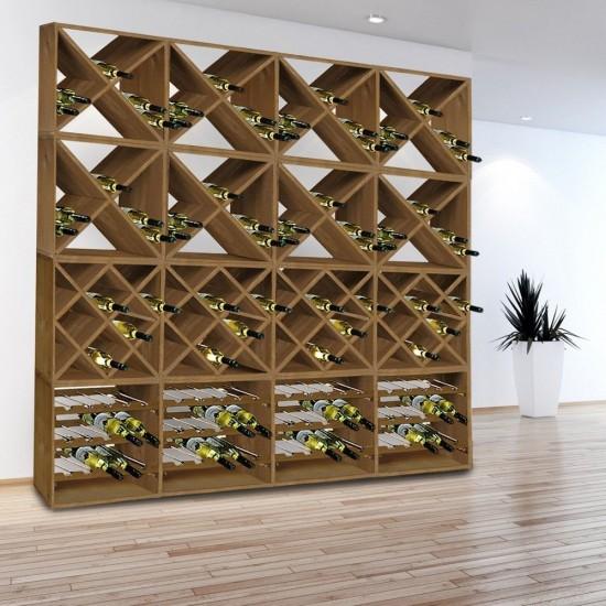 Етажерка за вино на три нива за 15 бутилки, KESPER Германия