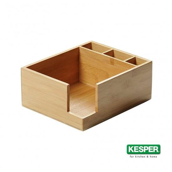 Бамбукова поставка за салфетки и прибори, KESPER Германия
