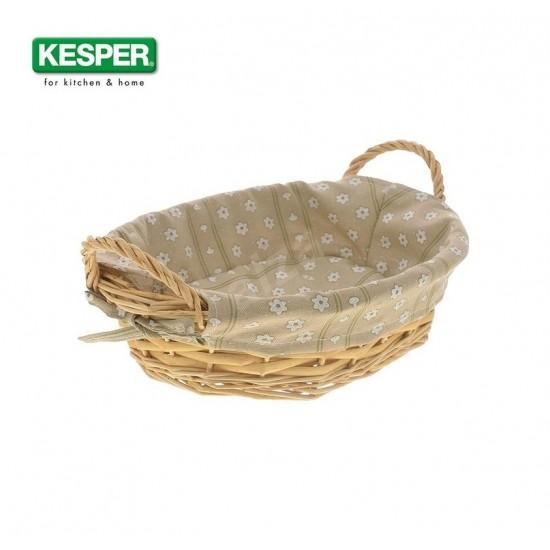 Панер за хляб с махащ се текстилен калъф 32*23*10 см, KESPER Германия