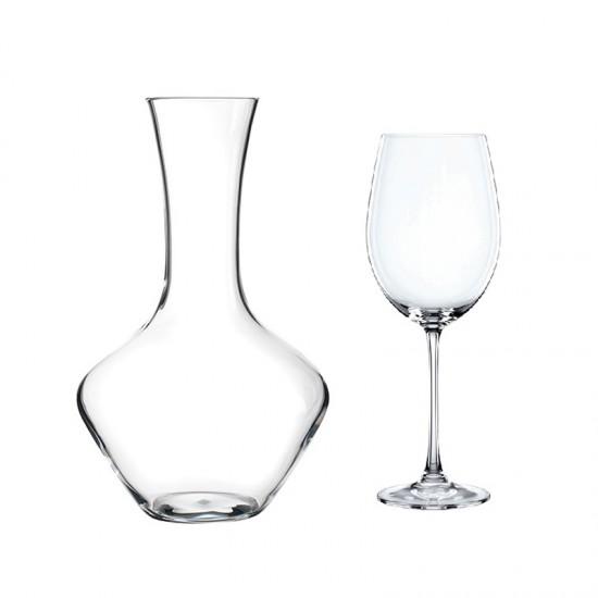 Комплект декантер и чаши VIVENDI, 5 броя, NACHTMANN Германия