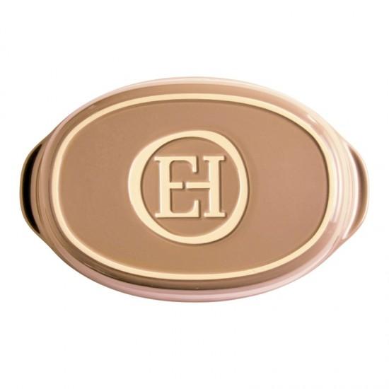 Керамична тава овал светло кафява 35*22 см, Emile Henry Франция