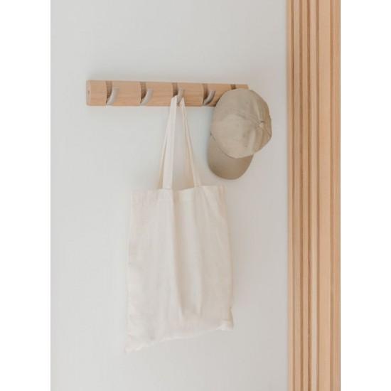 Закачалка за стена FLIP с 5 кукички, натурален дъб, UMBRA Канада