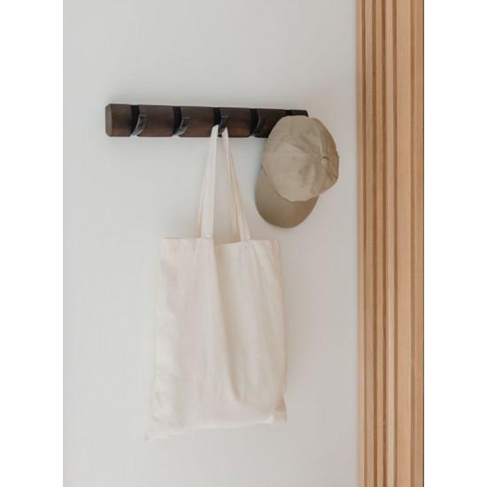 Закачалка за стена FLIP с 5 кукички в орех и черно, UMBRA Канада