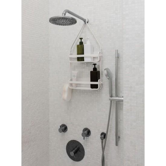 Двоен рафт за баня FLEX, бял, UMBRA Канада