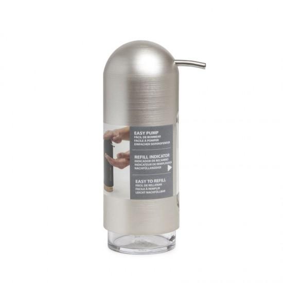 Диспенсър за течен сапун PENGUIN, никел, UMBRA Канада