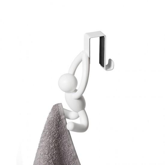 Закачалки за врата на шкаф BUDDY, 2 броя, бели, UMBRA Канада