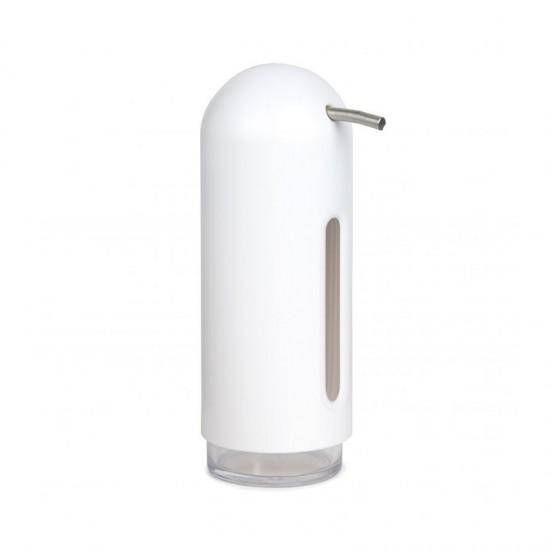 Диспенсър за течен сапун/дезинфектант PENGUIN, бял, UMBRA Канада