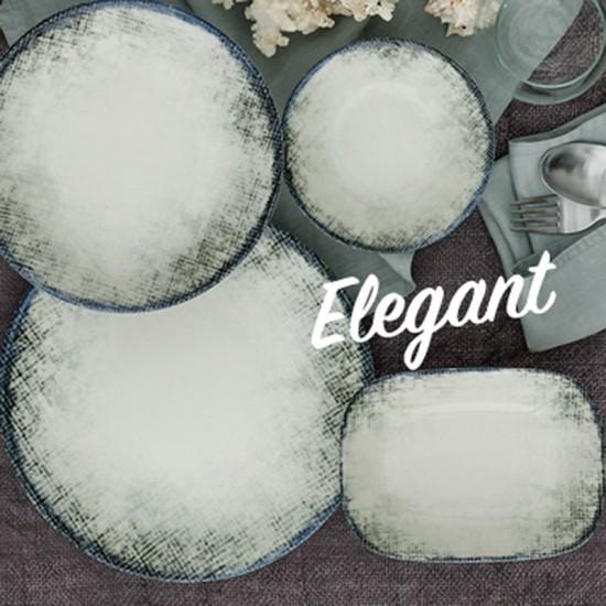 Дълбока порцеланова чиния ELEGANT, 20 см, GÜRAL PORSELEN Турция