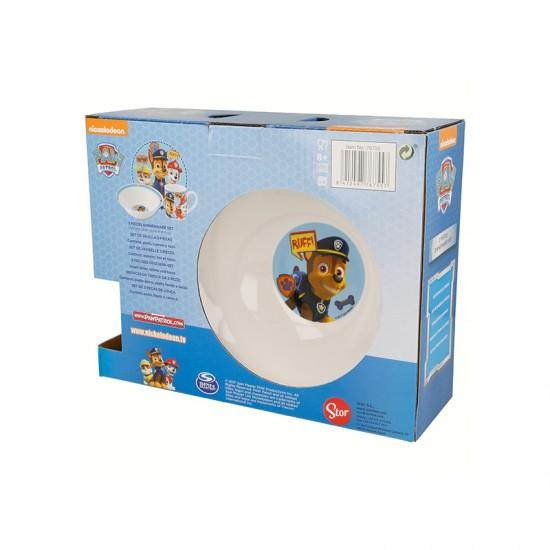 Детски порцеланов сервиз за хранене PAW PATROL, 3 части