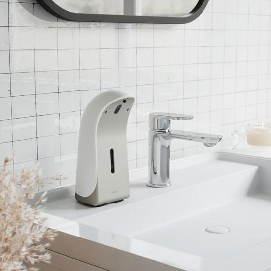 Автоматичен сензорен диспенсър за сапун EMPEROR в бяло и никел, 355 мл., UMBRA Канада