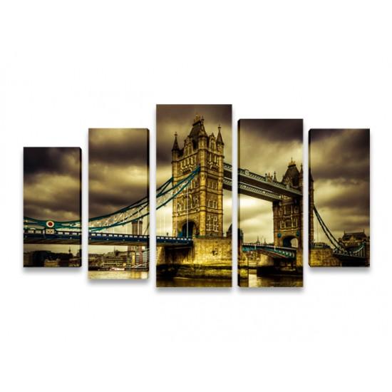 Картина пано Tower Bridge, 120 * 60 см