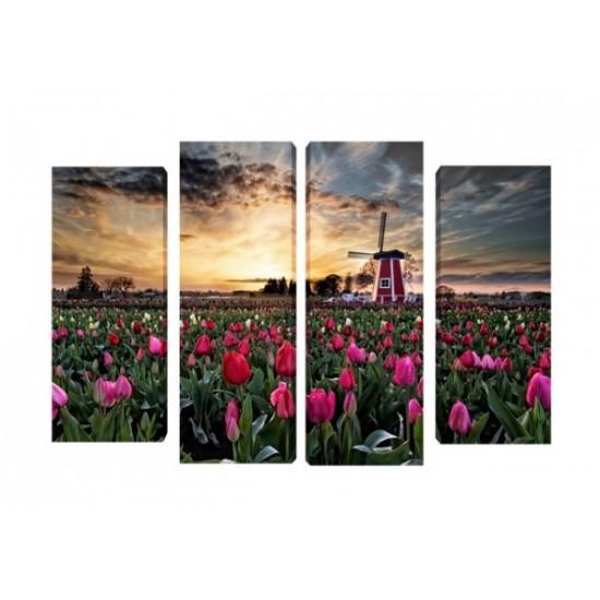 """Картина пано """"Холандия"""", 100*70 см"""