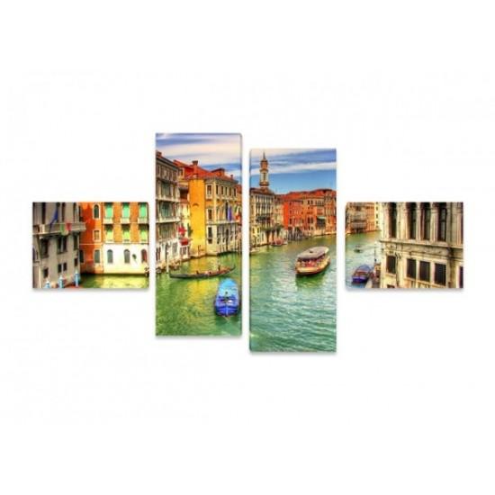 """Картина пано """"Венеция"""", 140*70 см"""