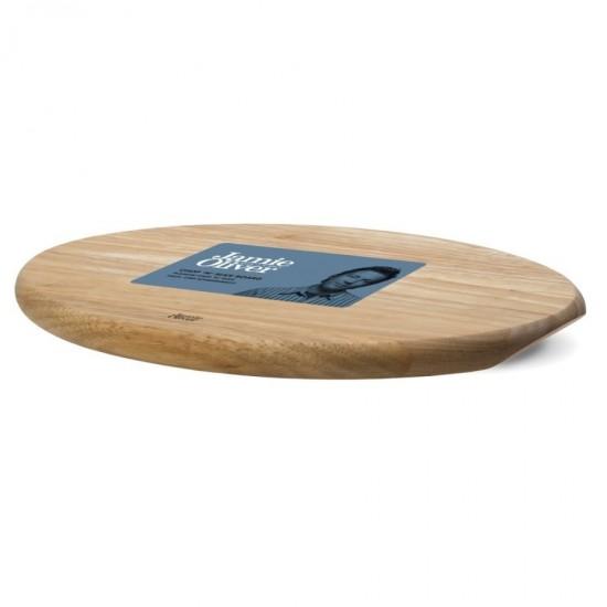 Дъска за рязане и сервиране от акациево дърво елипса, Jamie Oliver
