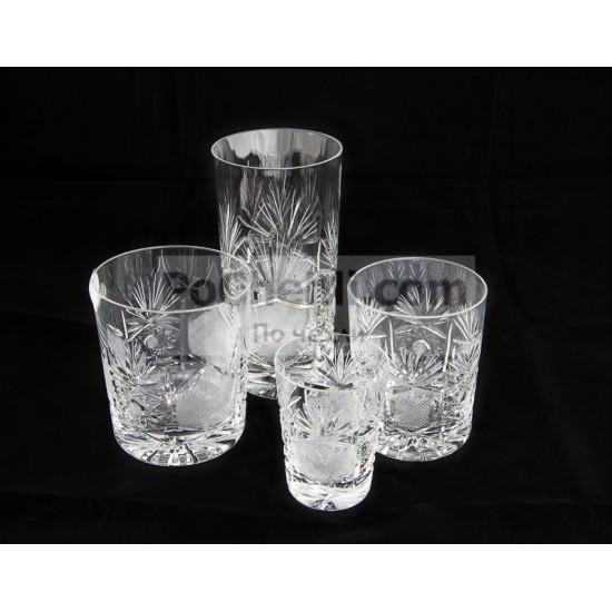 Кристални чаши за уиски Поморие, Zawiercie Crystal, Полша