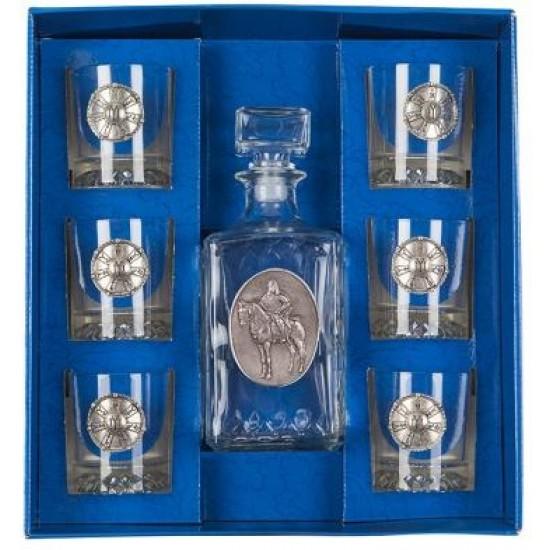 Комплект за уиски Конник и розета, Artina Австрия