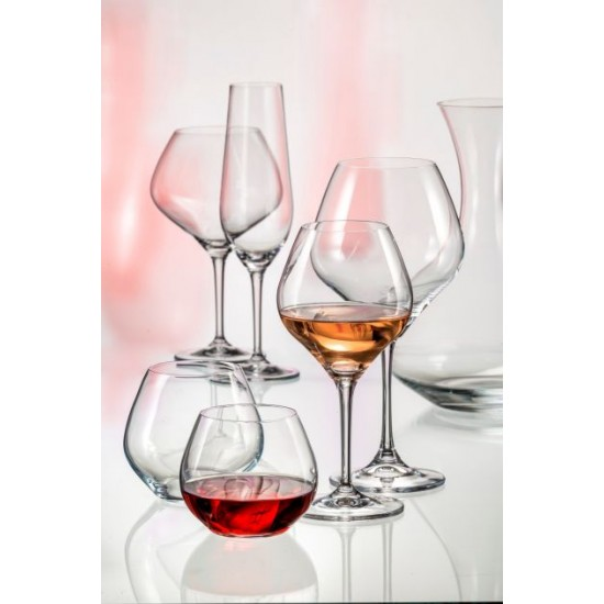 Чаши за червено вино Amoroso 470 мл, Crystalex Bohemia