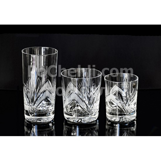 Кристални чаши за уиски Рамона, Zawiercie Crystal, Полша