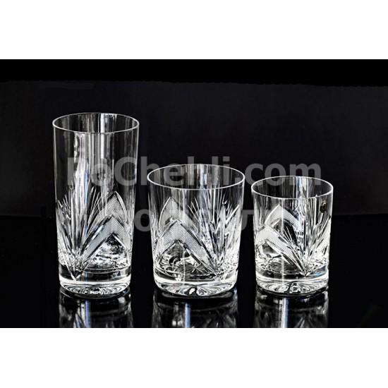 Кристални чаши за вода Рамона, Zawiercie Crystal, Полша