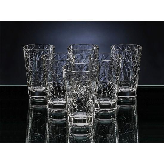 Коктейлни чаши DOLOMITI, 280 мл., 6 броя, VIDIVI Италия