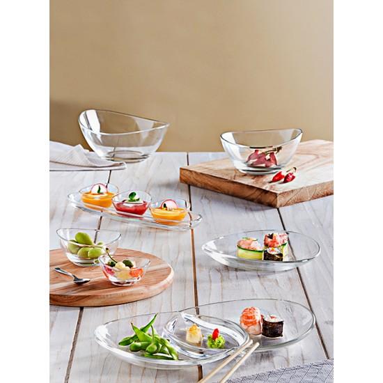 Комплект за сосове и ордьоври PAPAYA, 4 части, VIDIVI Италия