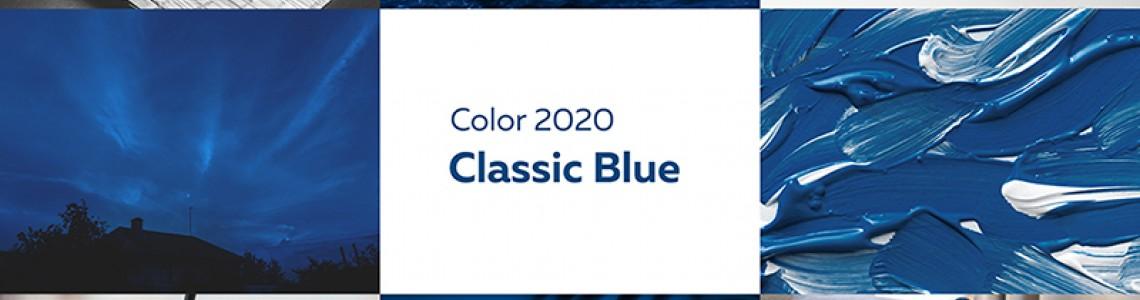 2020 година в класическо синьо