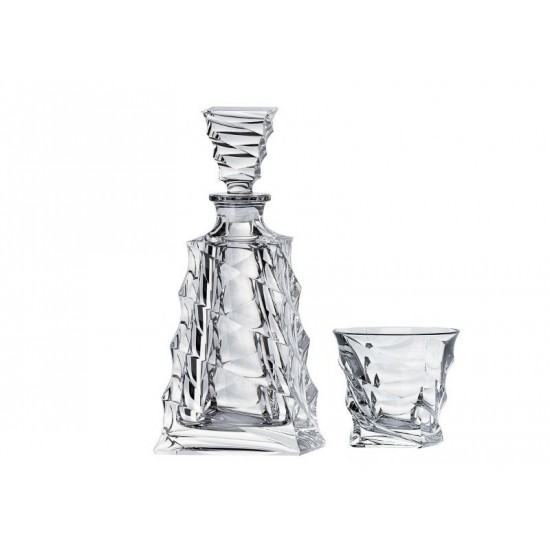 Комплект за уиски Casablanca 7 части, Bohemia Crystalite Чехия