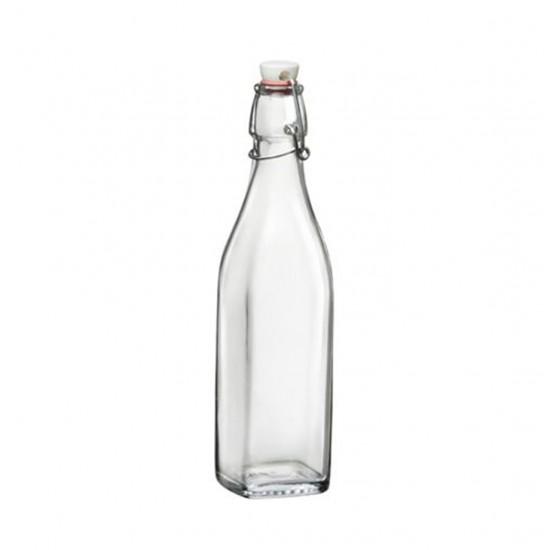 Бутилка с метален механизъм Swing 1 литър, Bormioli Rocco