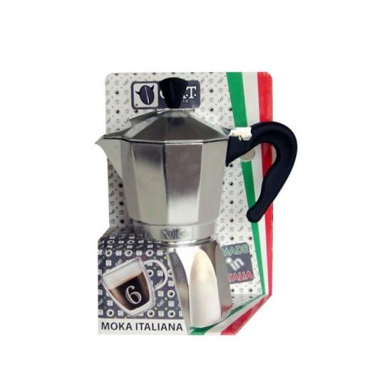 Кафеварка Super Moka за 6 кафета, G.A.T.  Италия
