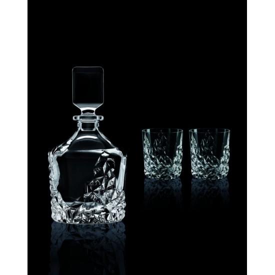 Гарафа и чаши за уиски Nachtmann Sculpture, 3 части