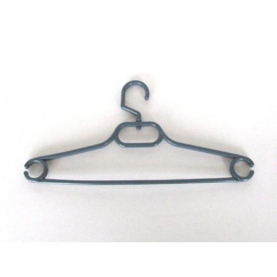 Закачалка за гардероб с въртяща кука сива