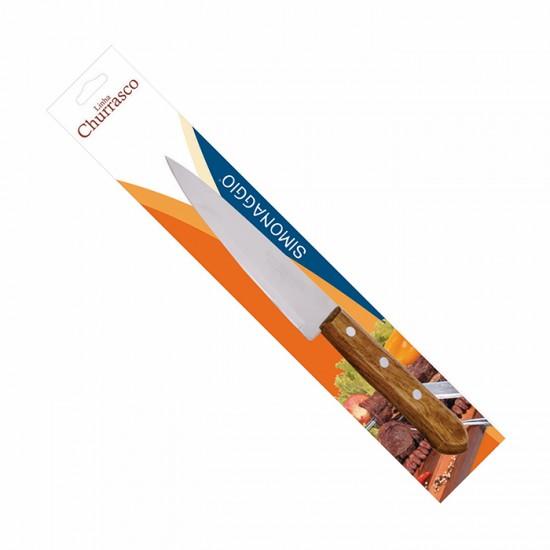 Готварски нож CHURRASCO MADEIRA, 15 см, SIMONAGGIO Бразилия