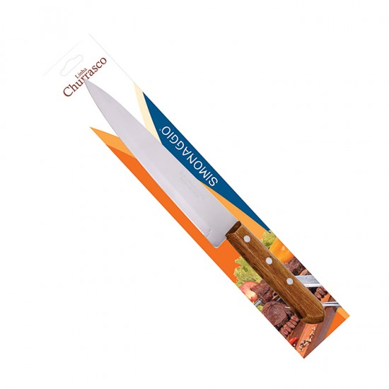 Готварски нож CHURRASCO MADEIRA, 20 см, SIMONAGGIO Бразилия