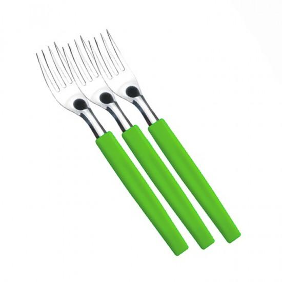 Комплект вилици BELIZE, 3 броя, зелени, SIMONAGGIO Бразилия