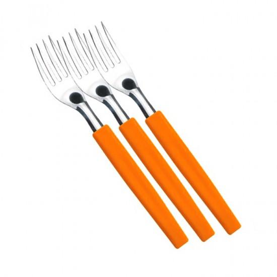Комплект вилици BELIZE, 3 броя, оранжеви, SIMONAGGIO Бразилия