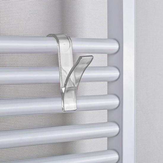 Комплект закачалки за хавлии, 4 броя, прозрачни, PRIMANOVA Турция