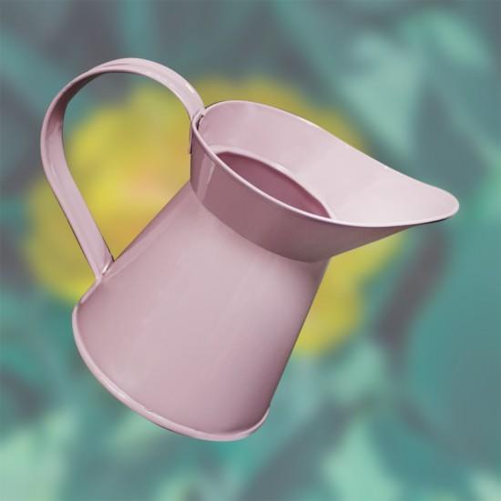 Декоративна метална кана, 500 мл., розова, FERONYA