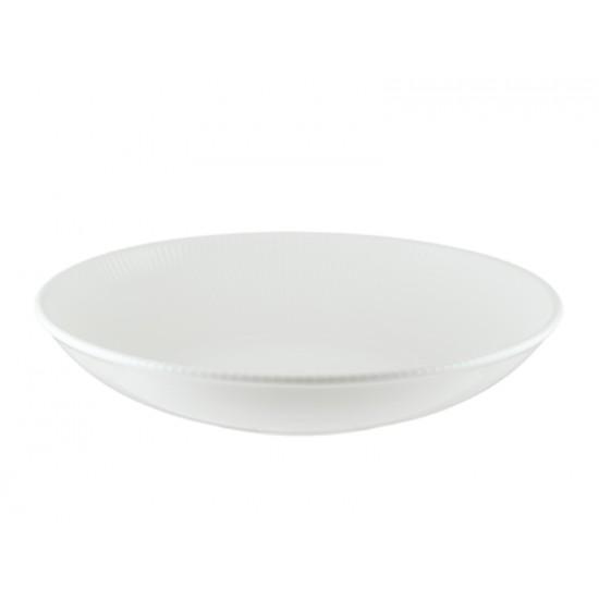 Дълбока чиния IRIS WHITE, 25 см, BONNA Турция