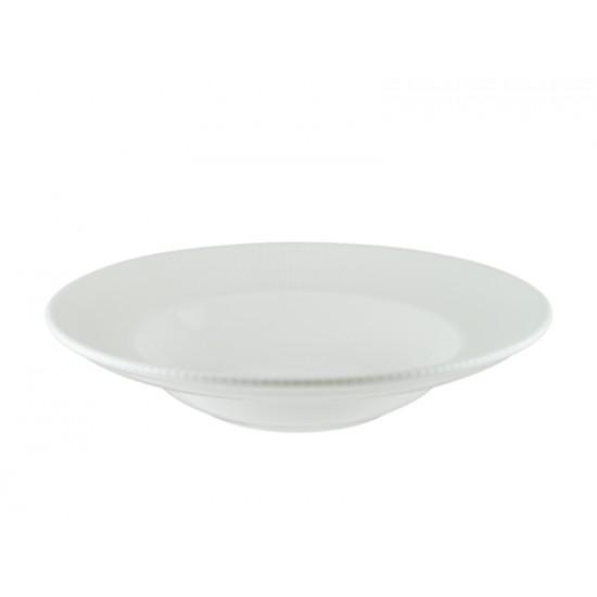 Дълбока гурме чиния IRIS WHITE, 27 см, BONNA Турция