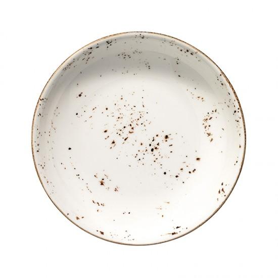 Дълбока порцеланова чиния GRAIN, 20 см, BONNA Турция
