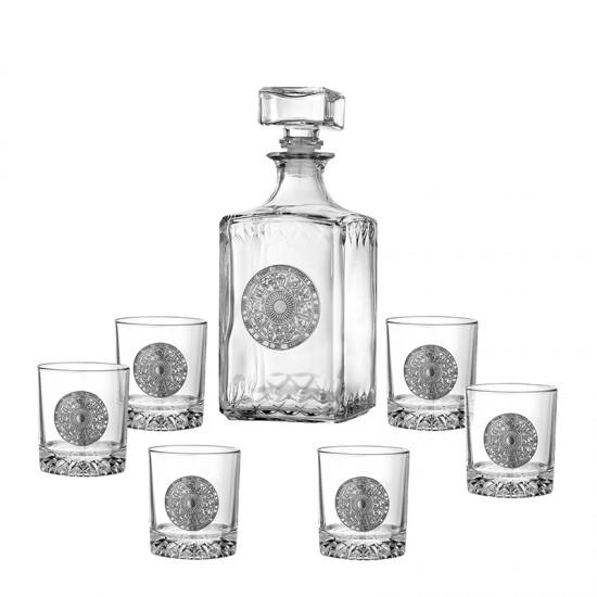 Комплект за уиски ЗОДИАК 7 части, Artina Австрия