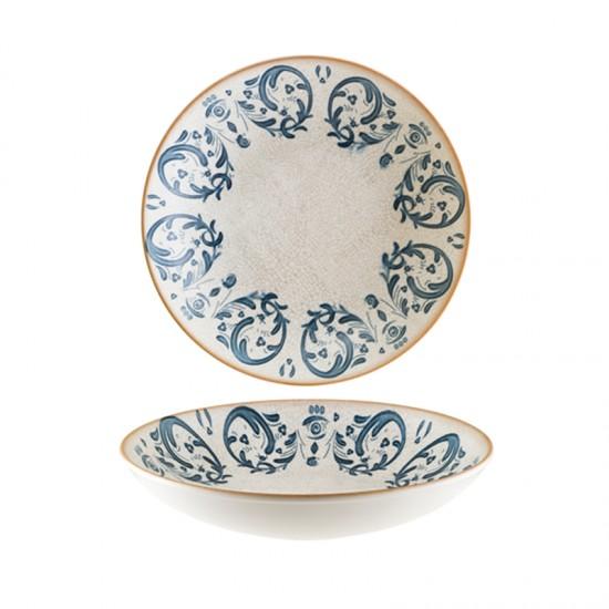 Дълбока порцеланова чиния VIENTO, 25 см, BONNA Турция