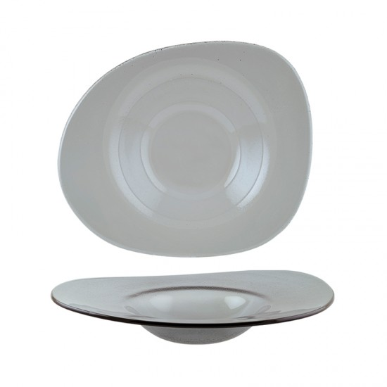 Дълбока стъклена чиния GLASS VAO, 27 х 32 см, BONNA Турция