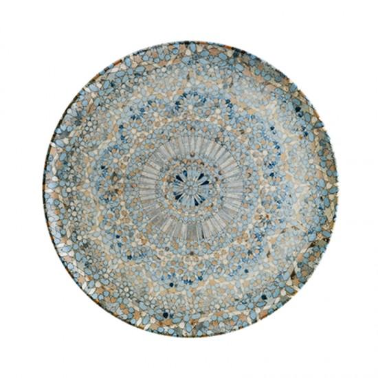 Дълбока порцеланова чиния LUCA MOSAIC, 25 см, BONNA Турция