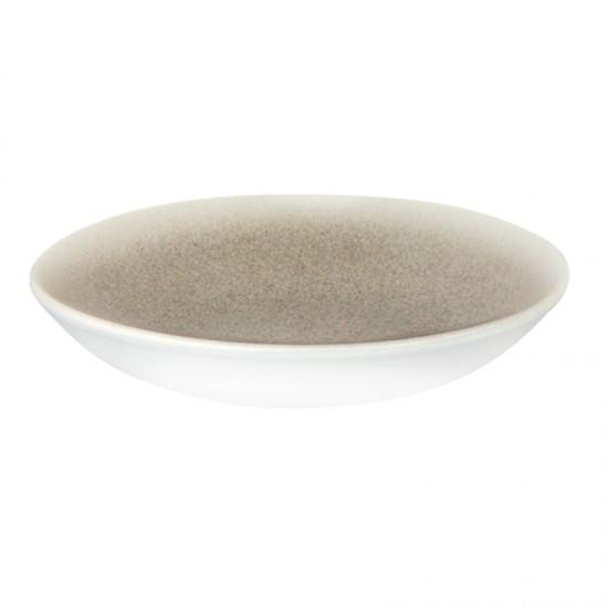 Дълбока порцеланова чиния LUCA SALMON, 25 см, BONNA Турция