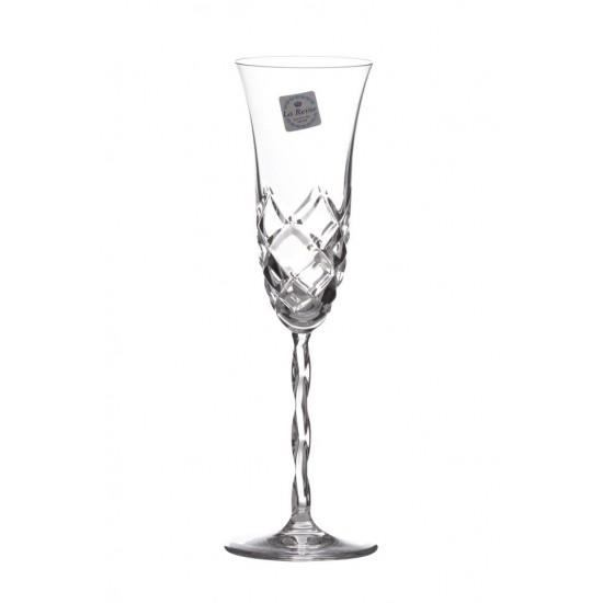 "Кристални чаши за шампанско ""Хелън Мемори"", La Reine, Италия"